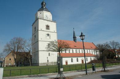 Marienkirche Barby -Foto O.Bleich