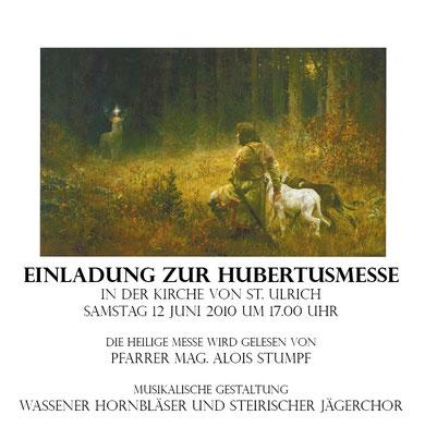 Hubertusmesse 2010