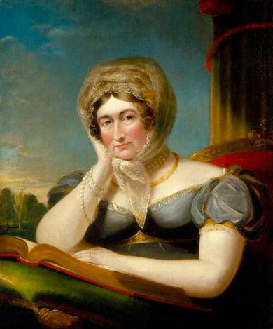 Caroline of Brunswick, Portrait by - James Lonsdale in 1820