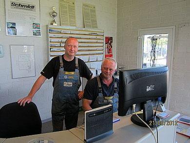 Service Uwe Redelstorff+Joachim Scheel