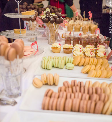 Sweet Buffet der 1. Pop-up Bakery