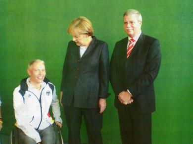 Oktober 2008 - Besuch bei der Bundeskanzlerin Frau Dr. Merkel
