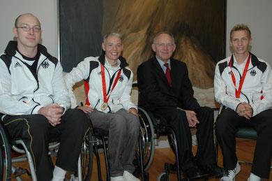 Oktober 2008 - Treffen mit Herrn Dr. Schäuble