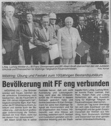 NÖN Horn/Eggenburg KW 35/1992