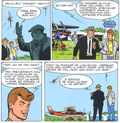 """""""Défi à Ric Hochet"""" page 3"""
