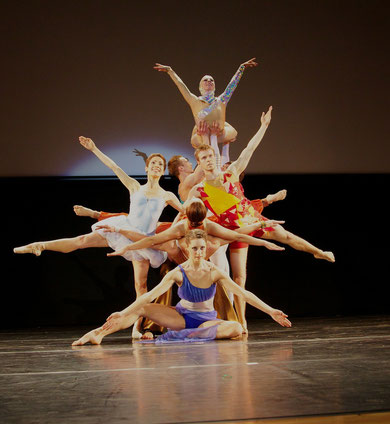 Russian ballet group