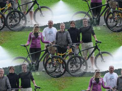 Leider nahmen nur wenige Mitglieder am Bikerennen teil