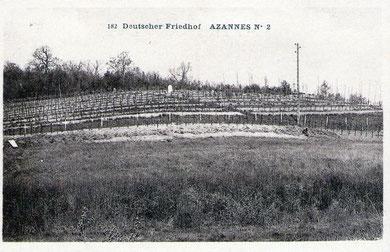 Der Friedhof in den 20-er Jahren