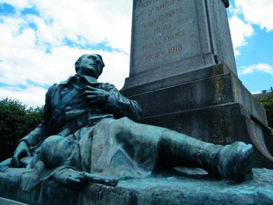 Verdunbilder, Rene Reuter, Montfaucon,