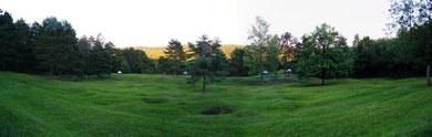Verdun, Verdunbilder, Rene Reuter, Fotos vom Schlachtfeld, 4 Schornsteine, Abri de quatre Cheminees