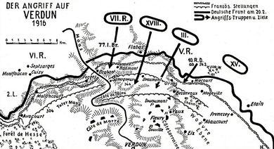 Die Schlacht Www Verdunbilder De Fotos Vom Schlachtfeld