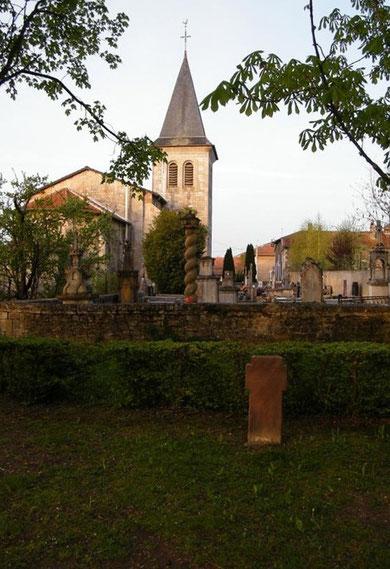 Die Kirche von Harville