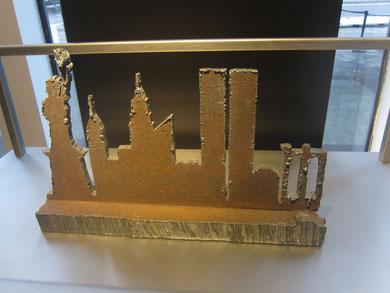 WTCの瓦礫で作られたもの