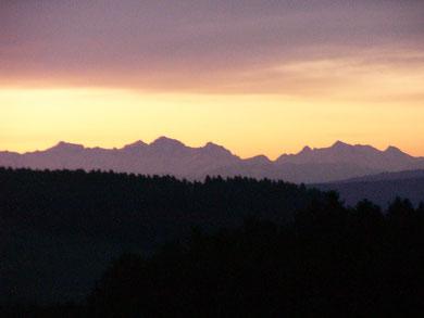 Sonnenaufgang Januar 2013