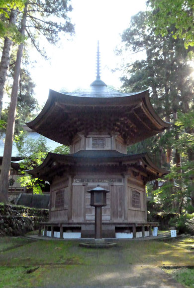 永平寺納経塔(撮影・東川寺)