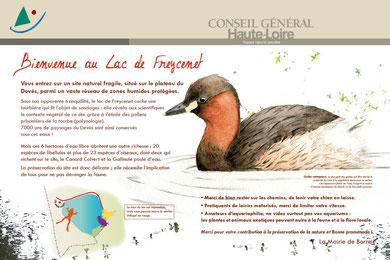 Panneau Conseil Général de Haute-Loire