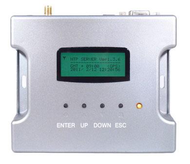 電波時計・GPS両対応 小型NTPサーバー