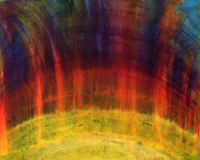 somnio  Acryl auf Leinwand 100x80cm