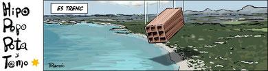 Especulación urbanística en playas naturales de Tarifa por Ramón (Diario El País, 1 de junio 2012)