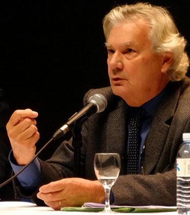 Yves Dauge cloturant les rencontres nationales organisées pour le cinquantenaire des secteurs sauvegardés, le 16 novembre 2012