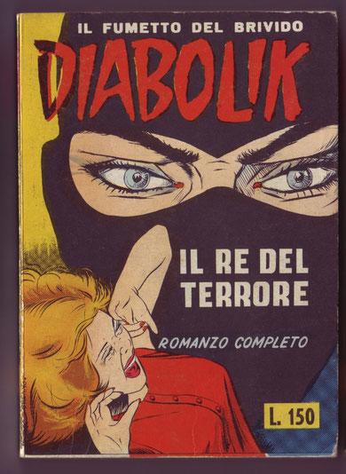 La versione del n. 1 del 1964 con barzelletta con copertina opaca