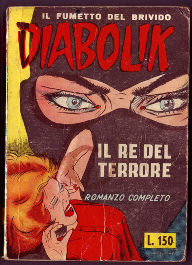 La versione del n. 1 del 1964 con barzelletta con copertina lucida