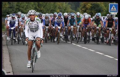 Dimitri Poret à la cyclosportive LA PICARDE le 10 Septembre