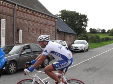 Ludovic Carpentier à la cyclosportive LA PICARDE le 10 Septembre