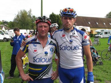 Christophe Maloigne et Dimitri Poret à LA PICARDE le 10 Septembre