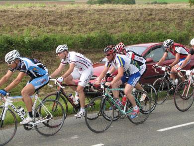 Christophe Maloigne à la cyclosportive LA PICARDE le 10 Septembre