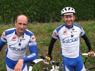 Ludovic Carpentier et Aymeric Olin à BOUVAINCOURT / BRESLE le 6 Juin