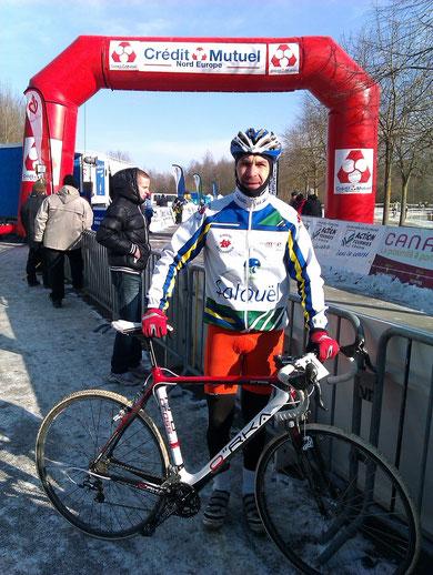 Samuel Bruhier au Championnat de France à FOURMIES le 5 Février 2012