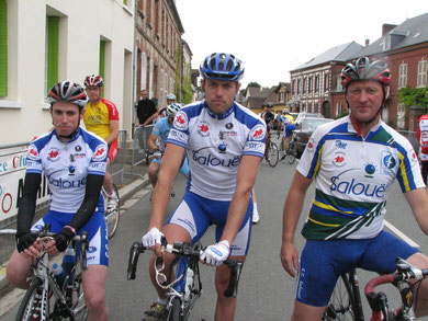 Kevin Poret, Dimitri Poret, Christophe Maloigne à SAINT GERMER DE FLY
