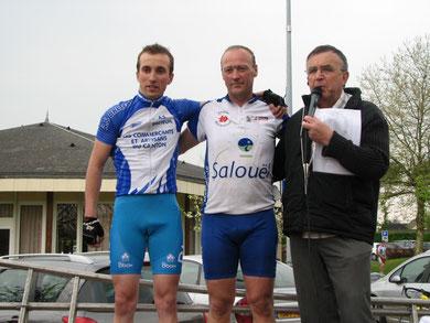 Christophe MALOIGNE à SAINT NICOLAS DE LA TAILLE le 16 Avril 2011