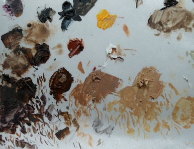 Palette du cuir des ptéruges