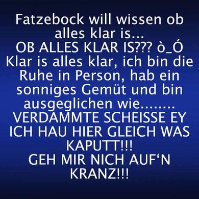 NULL Bock auf Fratzebuch...