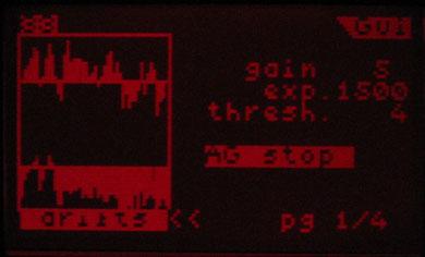 Screenshot: Lacerta M-GEN Stand-Alone Autoguider bei der Driftkontrolle