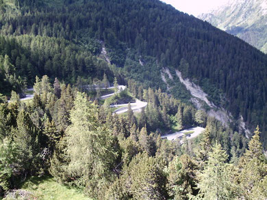 am Maloja - Pass