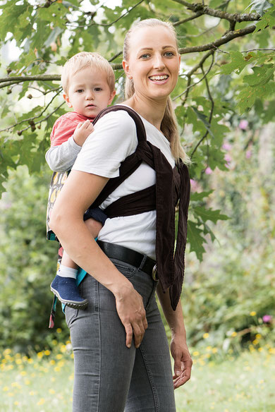 Podaegi baby carrier, back carry durning pregnancy , toddler and preschooler carrier.