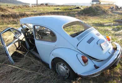 und die VW Truppe ....ist auch nicht mehr böse auf uns! Hatte halt Vollkasko & war Zusatzversichert..der 2,10 Metermann!