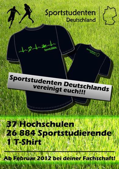 Sportstudenten Deutschland T-Shirt