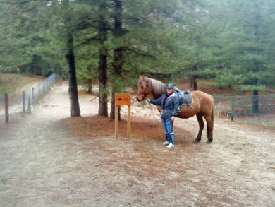 equitation camping