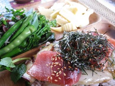 清水海鮮丼ランチ♫