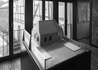 Modell der Synagoge von Dargun - Foto: Thomas Helms, Schwerin