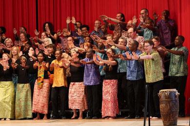 Lesedi Show Choir & Mokolé