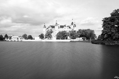 Graufilter-Test am Schweriner Schloss