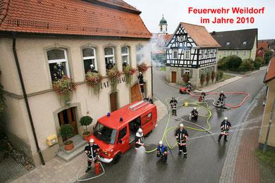 Gruppenbild Feuerwehr Weildorf