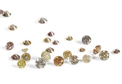 Diamanten, Brillanten, Princess cut, div. Grössen, Qualitäten und Formen