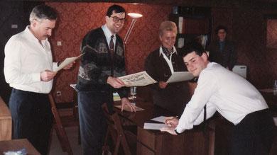 Institut de Formation IFPRC - Remise des Certificats de Formation Professionnelle - CFP 1991