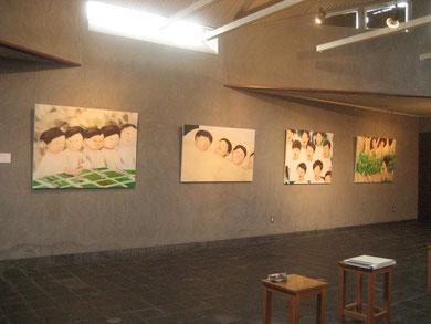 "Group show ""呼吸する視点"" at KAWARA Museum,Shiga  2010"